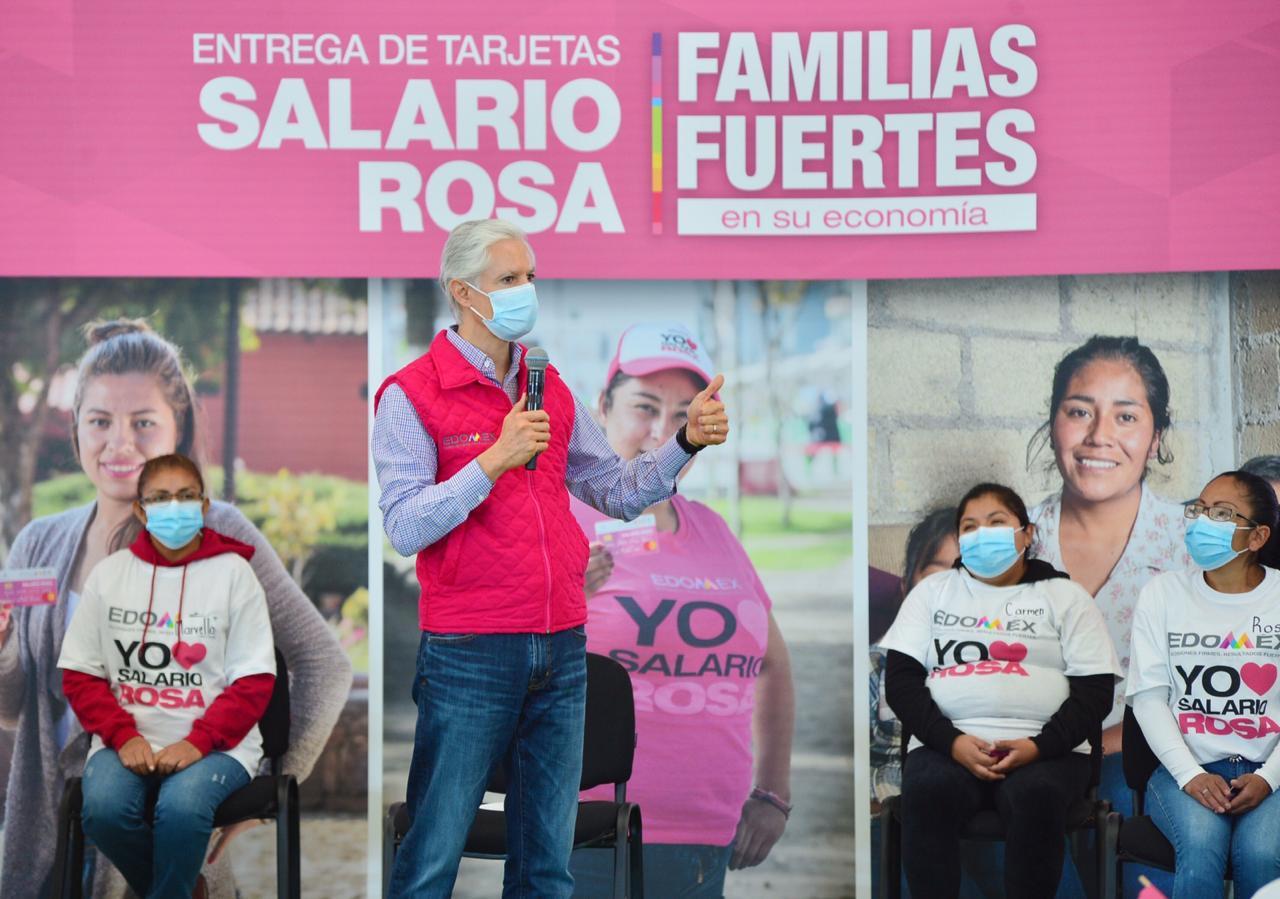 EL SALARIO ROSA APOYA A LAS AMAS DE CASA EN TIEMPOS DE PANDEMIA: ALFREDO DEL MAZO