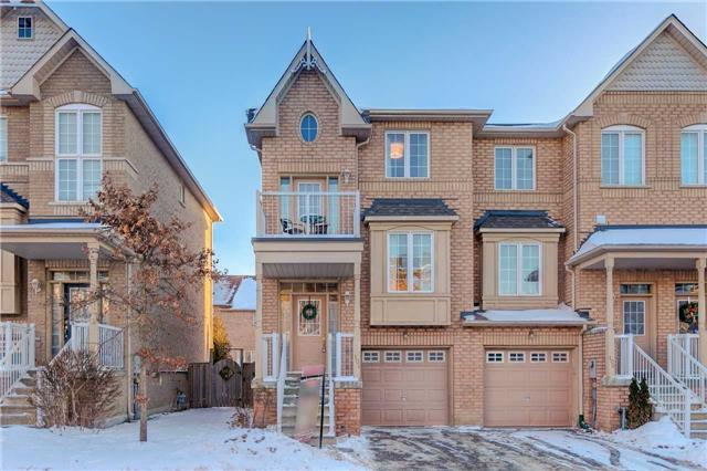 Beautiful 3 Storey End Unit Town, With Finished Walk Out Basement, Close To 401 & Ajax Go! Enjoy The Open Concept Main Floor With Sun Filled Living/Dining. Upgraded Kitchen W/Quartz Counter, Granite Undermount Sink & Tiled Breakfast Area With W/O To Juliette Balcony. Garage Entry To Finished Lower Level W/Rec Rm, Laundry & W/O To Fully Fenced Yard W/Gazebo. Upper Level Balcony O/L Front. 3 Spacious Beds All With Double Closets, Including Master W/2Pc Ensuite!
