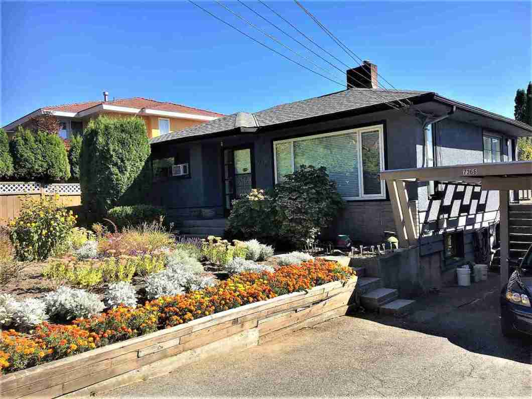 """LARGE VIEW PROPERTY. (105 x 108 Lot) with Lane Access, Hold and Build your dream home here! Excellent location within minutes to Sperling Skytrain Station. House is very liveable and the basement is roughed-in and has suite potential with separate entrance.  Seller planned to renovate and update the interior when tenant vacates property. Don't miss this one. All meas approx. Dial """"0"""" if Voicemail is on."""