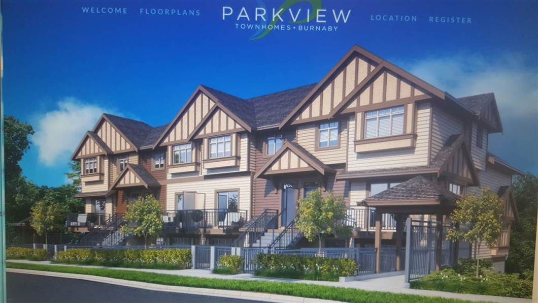 PARKVIEW TOWNHOMES, in the heart of Burnaby. Perfect balance of city living in a relaxing atmosphere. 2 bedroom 2 baths. 8 unique layouts to choose from. Quality stainless steel appliances to solid counter tops with undermount sinks. Completion March/April 2018.