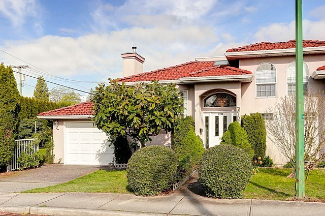 EXQUISITE HOUSE IN A CENTRAL LOCATION WITH A MORTGAGE HELPER of $1500/month!! Spacious and well maintained home on a corner lot with 3 bedrooms upstairs and a 2 bedroom legal suite with a separate entrance downstairs, sunny main floor includes an updated bright kitchen with granite countertops and new backsplash, large master,2 full washrooms, deck off the kitchen and a large family room downstairs, private fenced backyard for the gardener, Close to several highly rated public and private schools, shopping, rec center, Metrotown, bus and skytrain stations, Great as a family home or as an investment property. Next door also on sale.