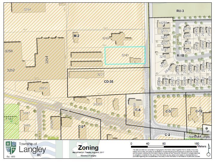 Must See! Industrial zoned one acre property situated on high exposure major intersection (Hwy 13 & Fraser Hwy). Close to major traffic arteries, Fraser Highway and is in Aldergrove neighborhood. Just a few minute walk to Aldergrove Village Shopping Centre where you can find most shops needed, including Shoppers Drug Mart, Save-on-Foods, McDonald's and so on. This one acre land has full pasting in Black. There are two original free-standing buildings at around 800 SF each. Property under M-2 (General Industrial Zoning), great for truck parking, truck wash and any other industrial use. Call now for more information.