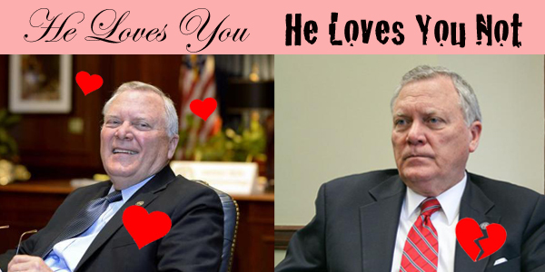 Nathan Deal loves you, loves you not
