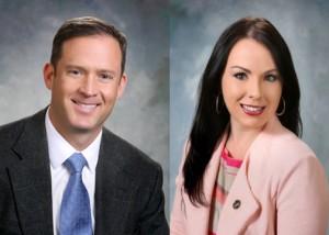 House Majority Floor Leader Nate Gentry, R-Albuquerque, and Rep. Stephanie Maez, D-Albuquerque.  Source: http://www.nmlegis.gov/