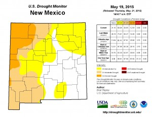 Drought Monitor 05192015