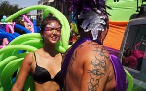 At Albuquerque Pride in 2012. Photo Credit: JobyOne via  cc