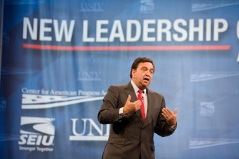 Bill Richardson at Las Vegas Presidential Forum in 2007. Photo Credit: Center for American Progress Action Fund cc