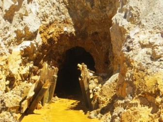 Entrance to the Gold King Mine. Photo via Environmental Protection Agency