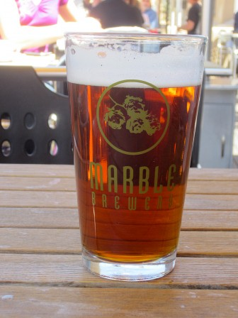 Marble Brewery beer. Photo Credit: kbrookes cc