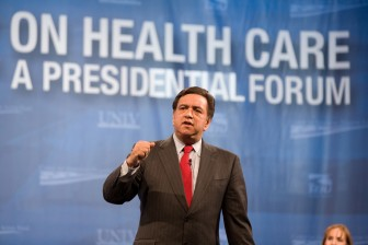 Bill Richardson at Las Vegas Presidential Forum. Photo Credit: Center for American Progress Action Fund cc