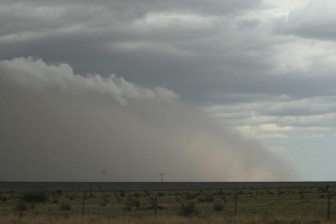 New Mexico dust storm. Image by Quinn Dombrowski/flickr