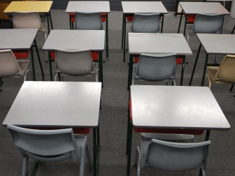 desks classroom education