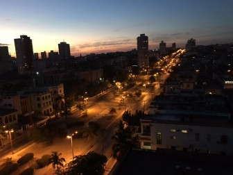 Havana at dusk. Photo Credit: Javier Martinez.