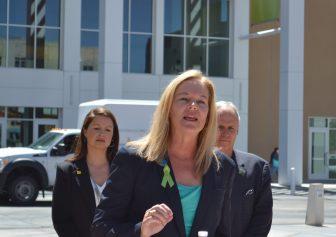 Bernalillo County Commissioner Maggie Hart Stebbins.
