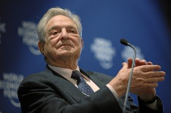George Soros at the  World Economic Forum Annual Meeting Davos 2010. Photo Credit: World Economic Forum cc