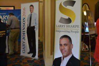 Larry Sharpe and Gary Johnson