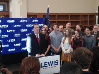 Dan Lewis announcing his run for mayor of Albuquerque