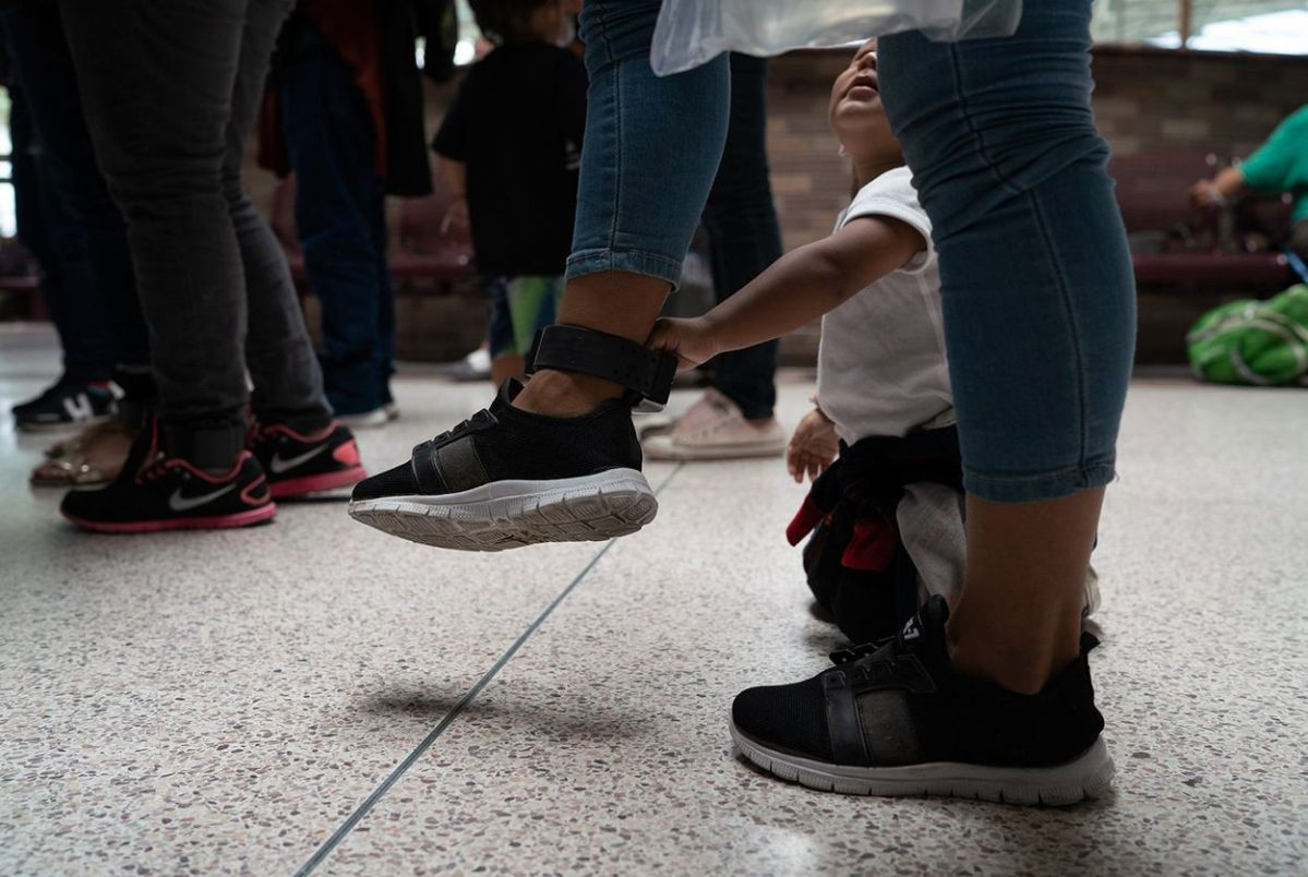 """It's humiliating"": Released immigrants describe life with ankle monitors"