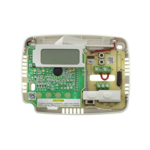 nonprogrammable thermostat 24 volt or millivolt system horizontal
