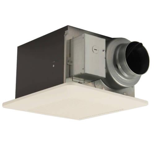 whisperceiling dc 50 80 110 cfm ceiling ventilation fan