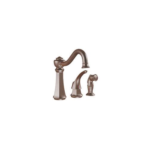 handle oil rubbed bronze kitchen faucet