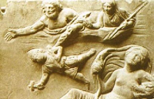 Hephaestus Thrown Olympus