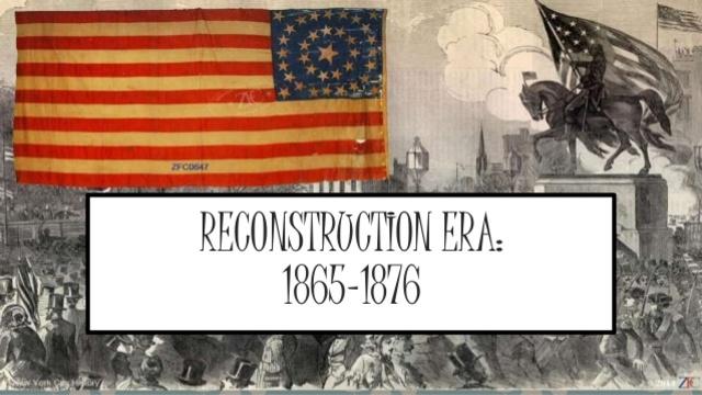 Reconstruction Era South Klan