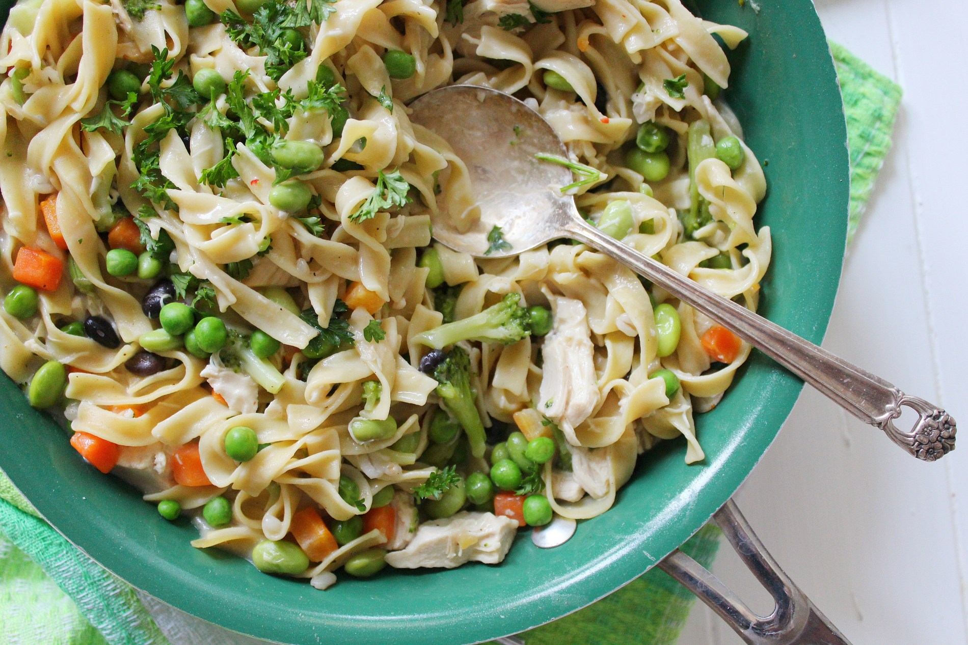 Tex Mex Fusion Chicken Skillet Meal