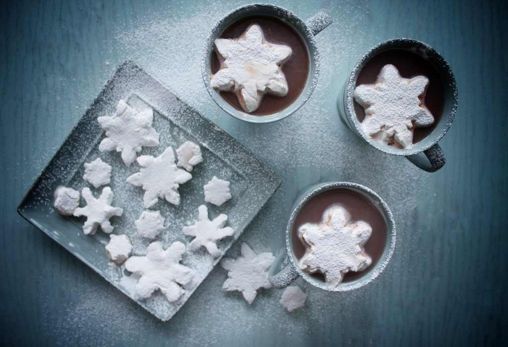 Snowflake Marshmallows
