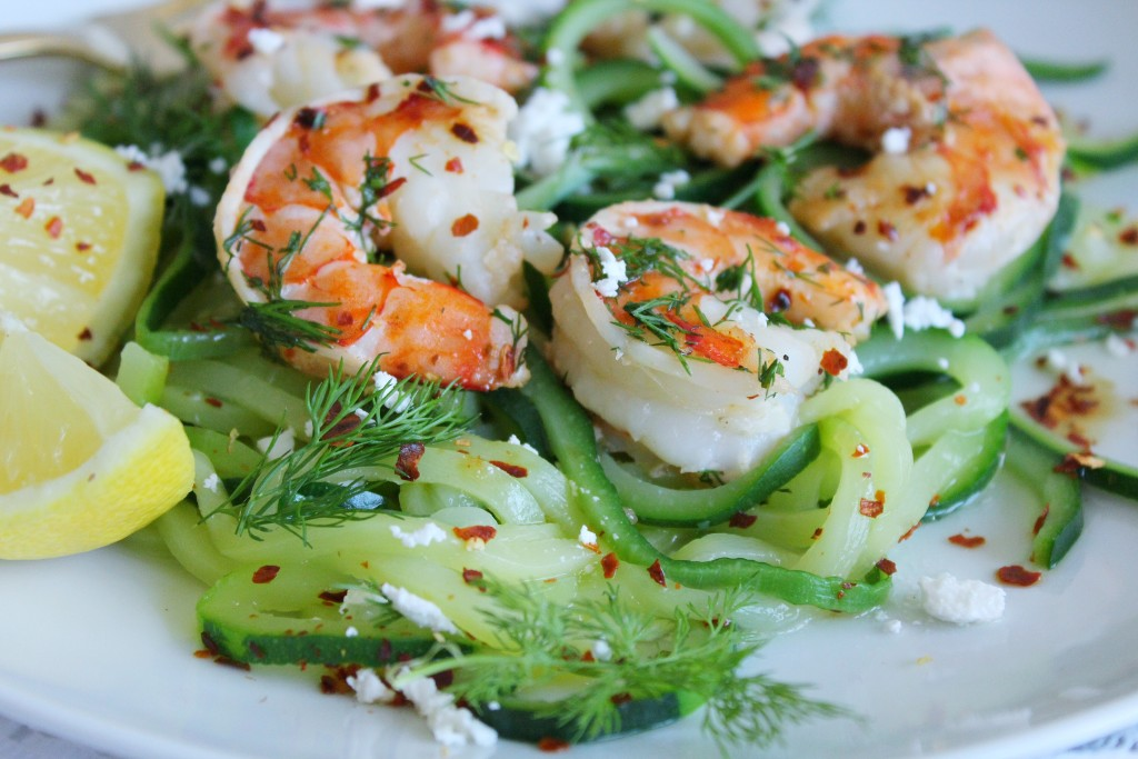 Shrimp Zoodles