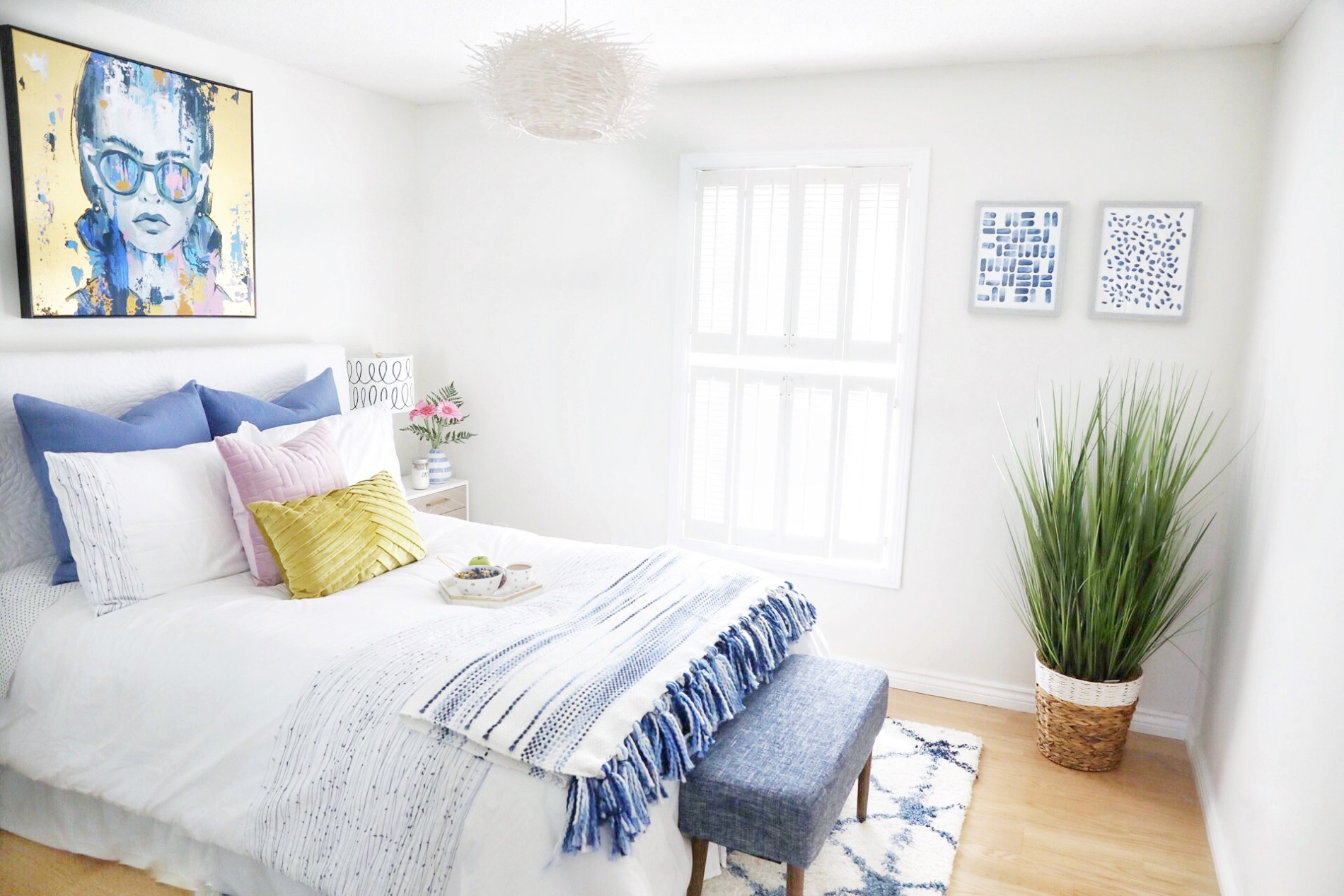 A Simply Beautiful Guest Bedroom Makeover Simply Beautiful Eating