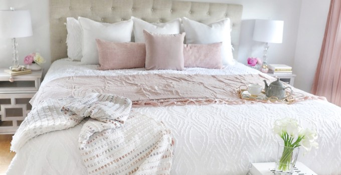 A Simply Beautiful Master Bedroom Makeover