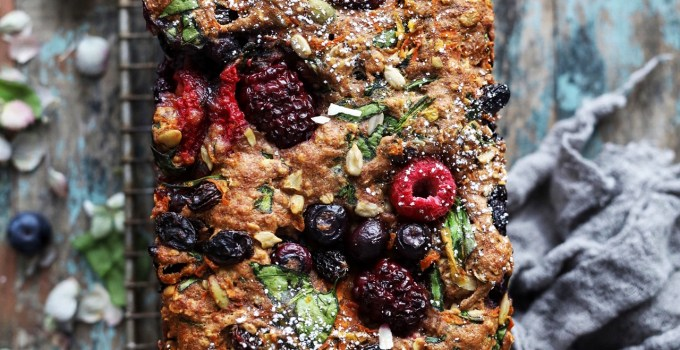 Everything Vegan Fruit, Veggie and Nut Breakfast Bread