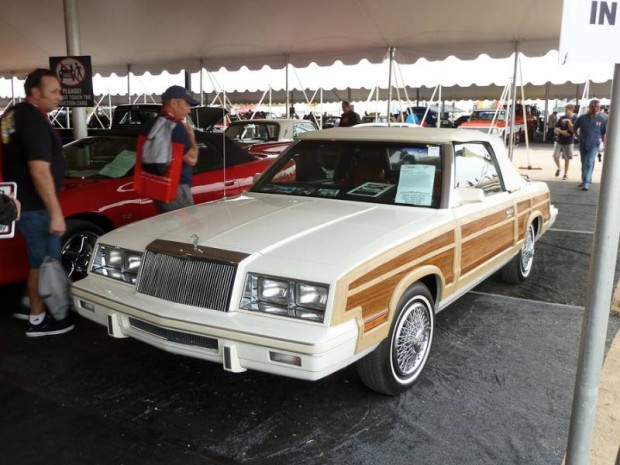 1983 Chrysler LeBaron Town and Country Convertible for sale