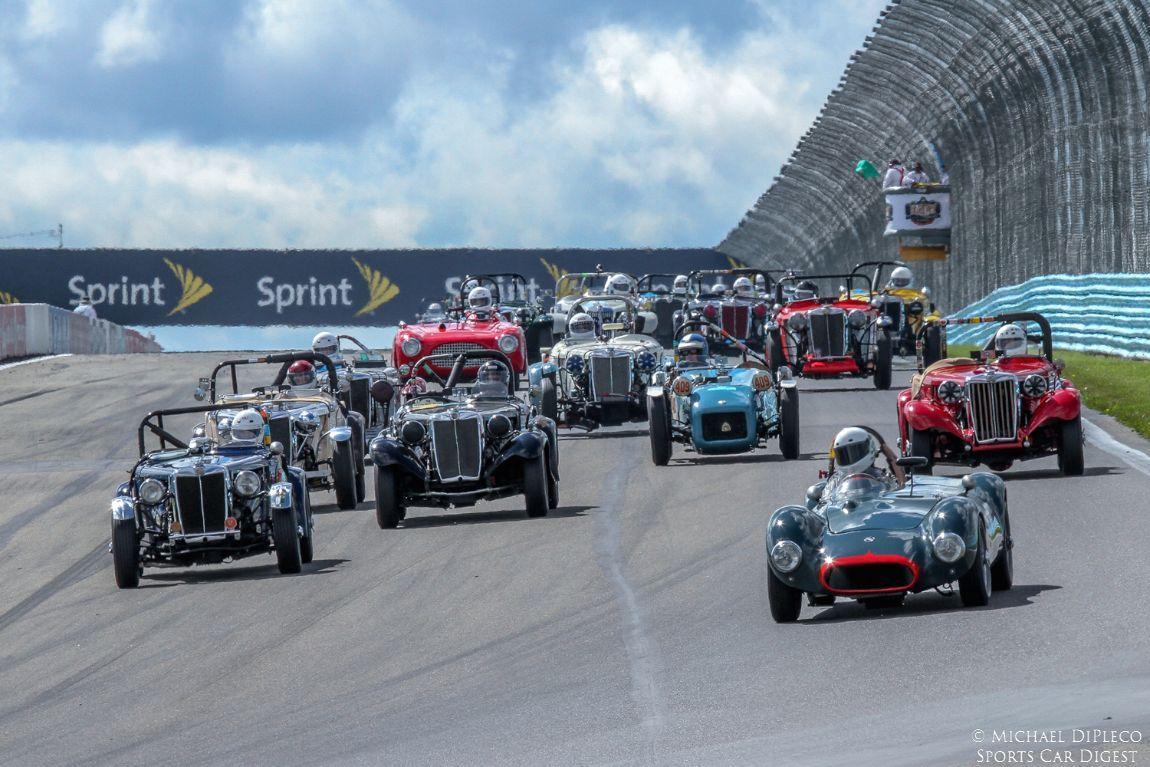 U.S. Vintage Grand Prix Watkins Glen 2014 - Photos, Results