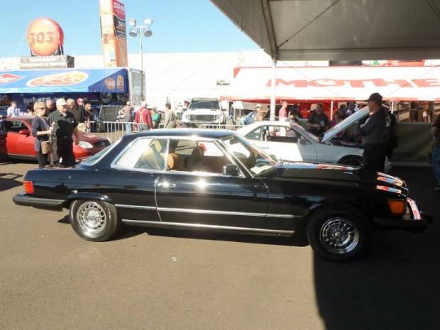 1980 Mercedes-Benz 450SLC 2-Dr. Hardtop
