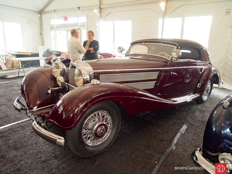 1937 Mercedes-Benz 540K Sport Cabriolet A, Body by Sindelfingen