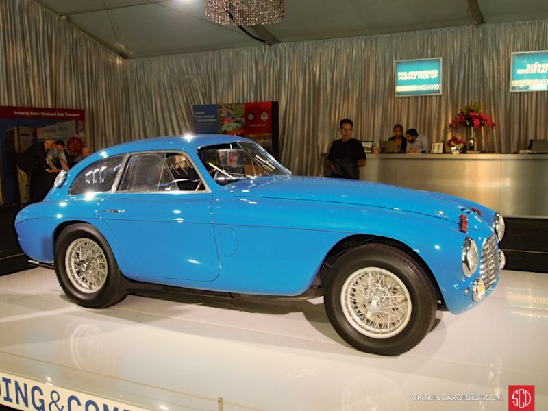 1950 Ferrari 166 MM Berlinetta Le Mans, Body by Touring