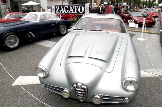 1956 Alfa Romeo 1900 Zagato Double Bubble - David Sydorick