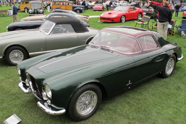 1955 Ferrari 375 America Coupe Speciale built for Gianni Agnelli - Jack E. Thomas.  Photo William Edgar