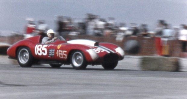 Carroll Shelby in Tony Parravano Ferrari 410 Speciale