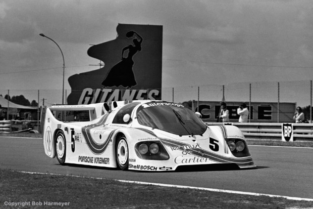 With the introduction of new technical regulations for the 1982 season, the Porsche CK5 01 driven by Danny Ongais, Ted Field and Bill Whittington was a one-off, stop-gap design raced by the Kremer brothers until the Porsche 956 was made available to privateer teams.