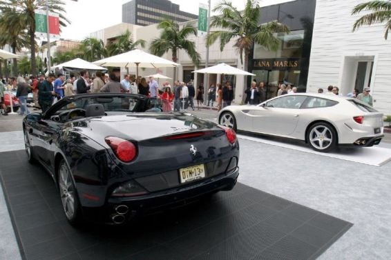 Ferrari California Spyder and FF
