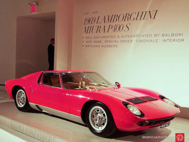 1969 Lamborghini Miura S Coupe