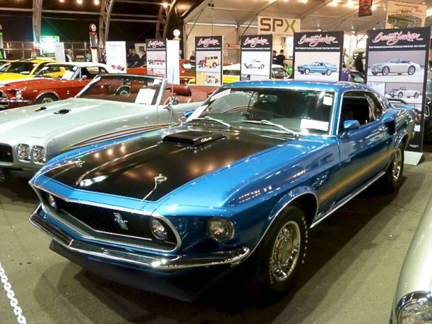 1969 Ford Mustang 428 CJ R Fastback for sale