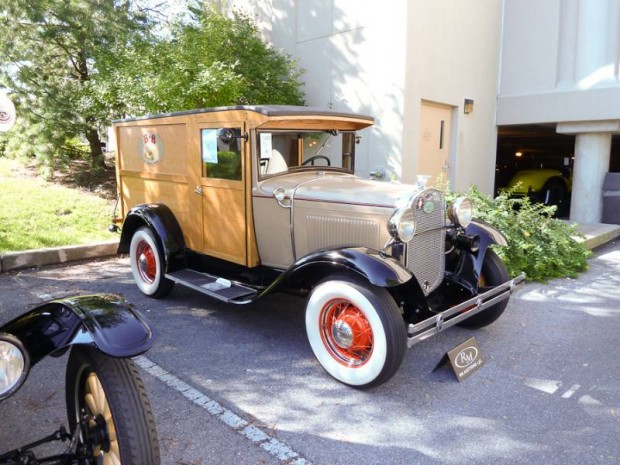 1930 Ford Model A Panel Truck
