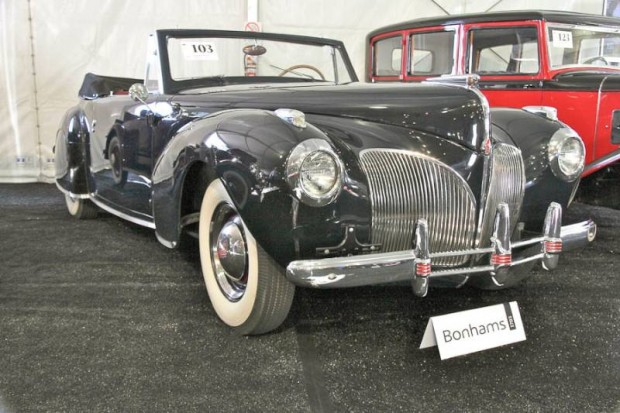 1941 Lincoln Continental Convertible