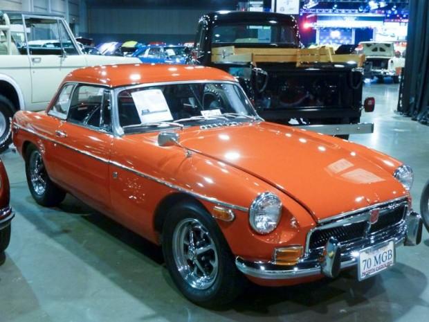 1970 MG B Convertible