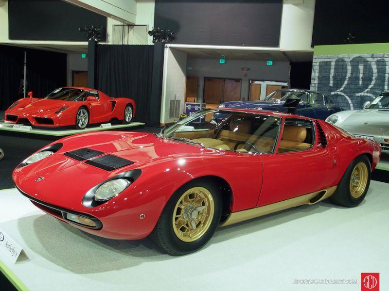 1971 Lamborghini Miura P400 SV Coupe, Body by Bertone