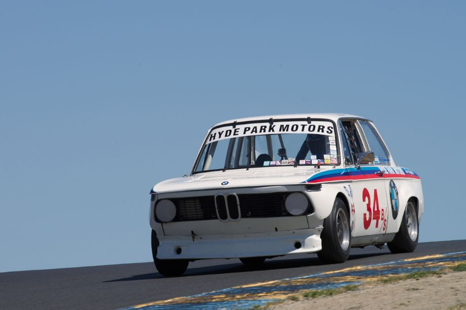 BMW 2002 Tii in three.